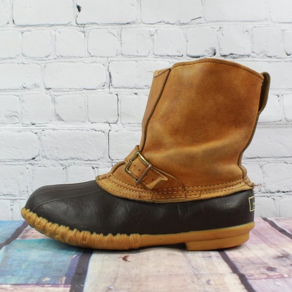 Ll Bean Leather Uninsulated Pull